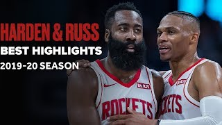 James Harden & Russell Westbrook Best Highlights From 2019-2020 Season