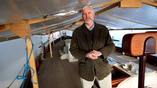 Duncan Walker of Fairlie Restorations talks about the William Fife Ketch KENTRA