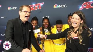 "Ndlovu South African Choir with Thier ""Neil Patrick Harris"" Talk 'AGT' Finale"