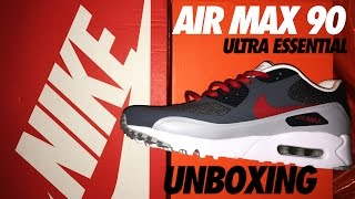 NIKE AIR MAX 90 ULTRA ESSENTIAL UNBOXING