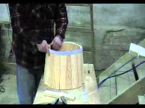 OBATHS manufacture  wooden barrels and tubes  YouTube
