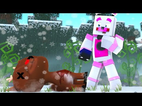 Rudolph The Red Nosed Reindeer Murder Mystery ?! | Minecraft FNAF Roleplay