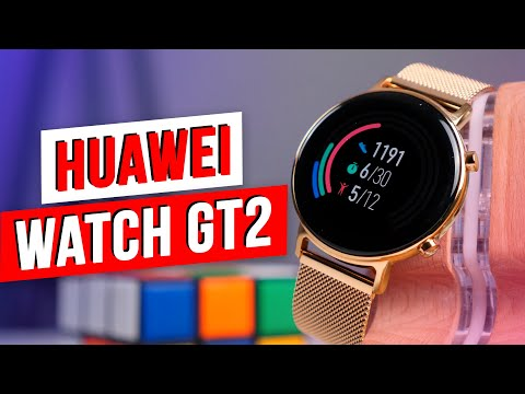 Видео: Huawei Watch GT2 Elegant Edition - ОБЗОР