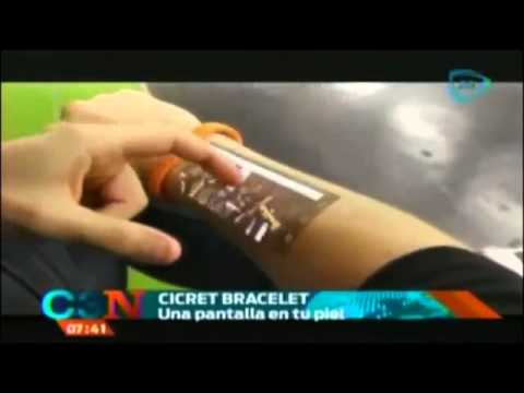 Cicret Bracelet on Cadenatres Noticias (Mexico)