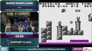 Super Mario Land by Protomagicalgirl in 14:31 - SGDQ 2016 - Part 149
