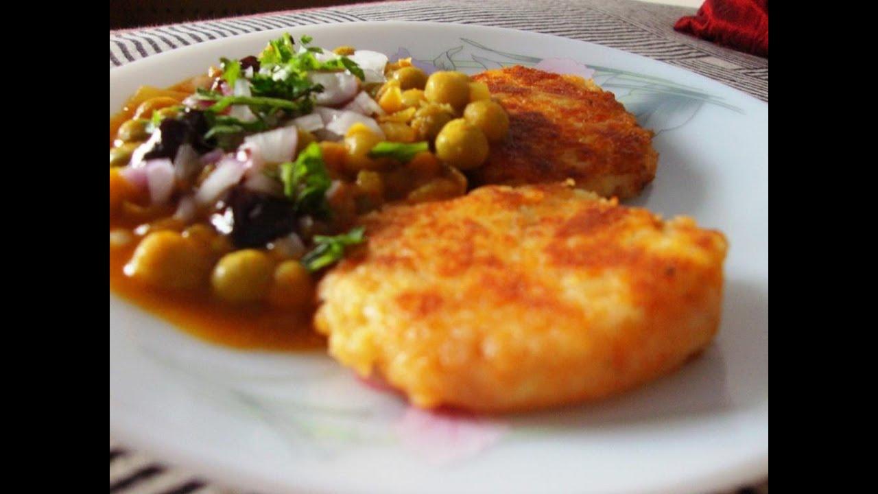 how to make ragda pattice recipe in hindi subtitle