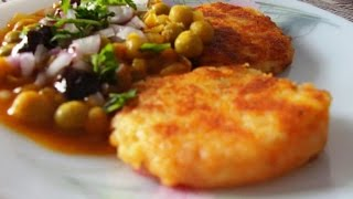 how to make ragda pattice recipe in hindi subtitle