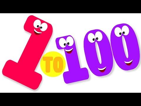 La cancion de los numero 1-100