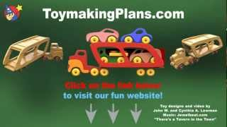 Wood Toy Plans - Car Carrier