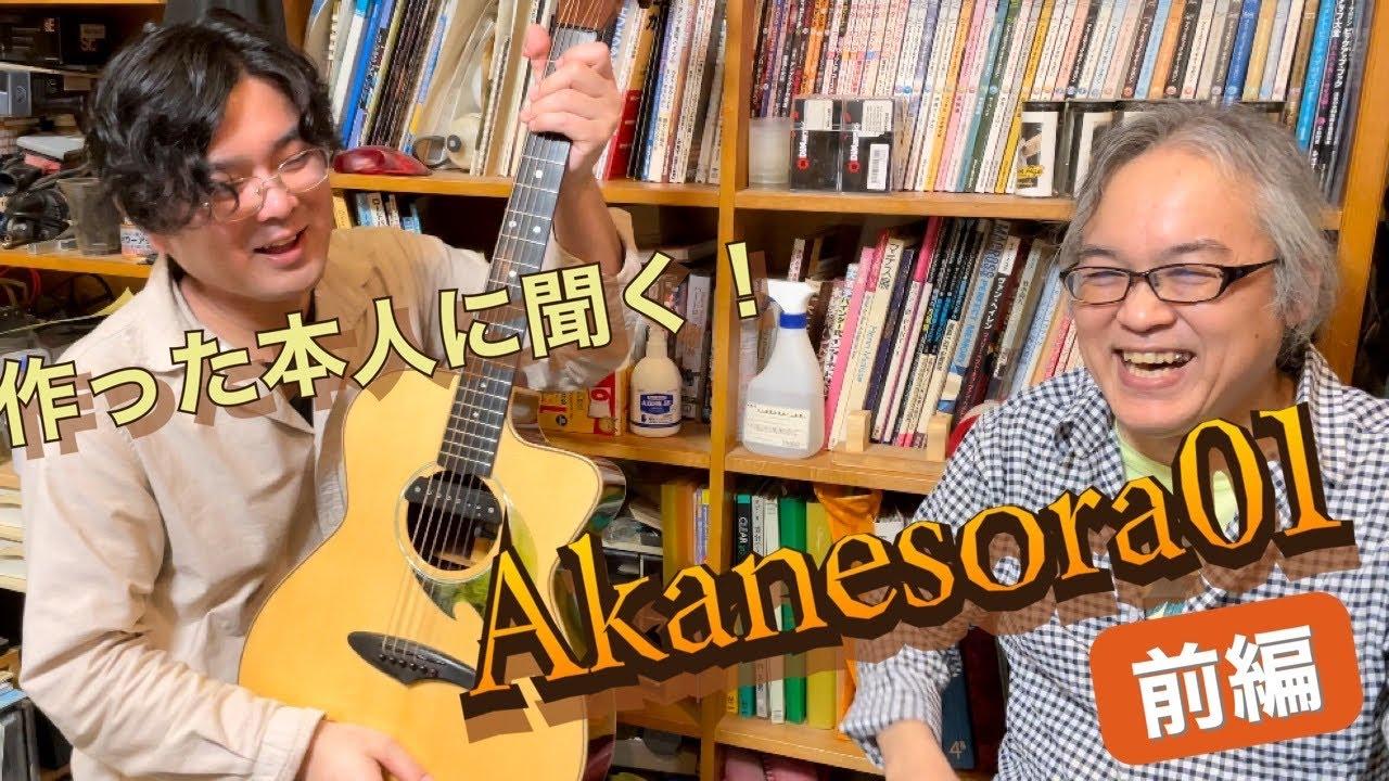 【前編】僕のメインギター(Akanesora01)の解説 in ResonanceGuitars