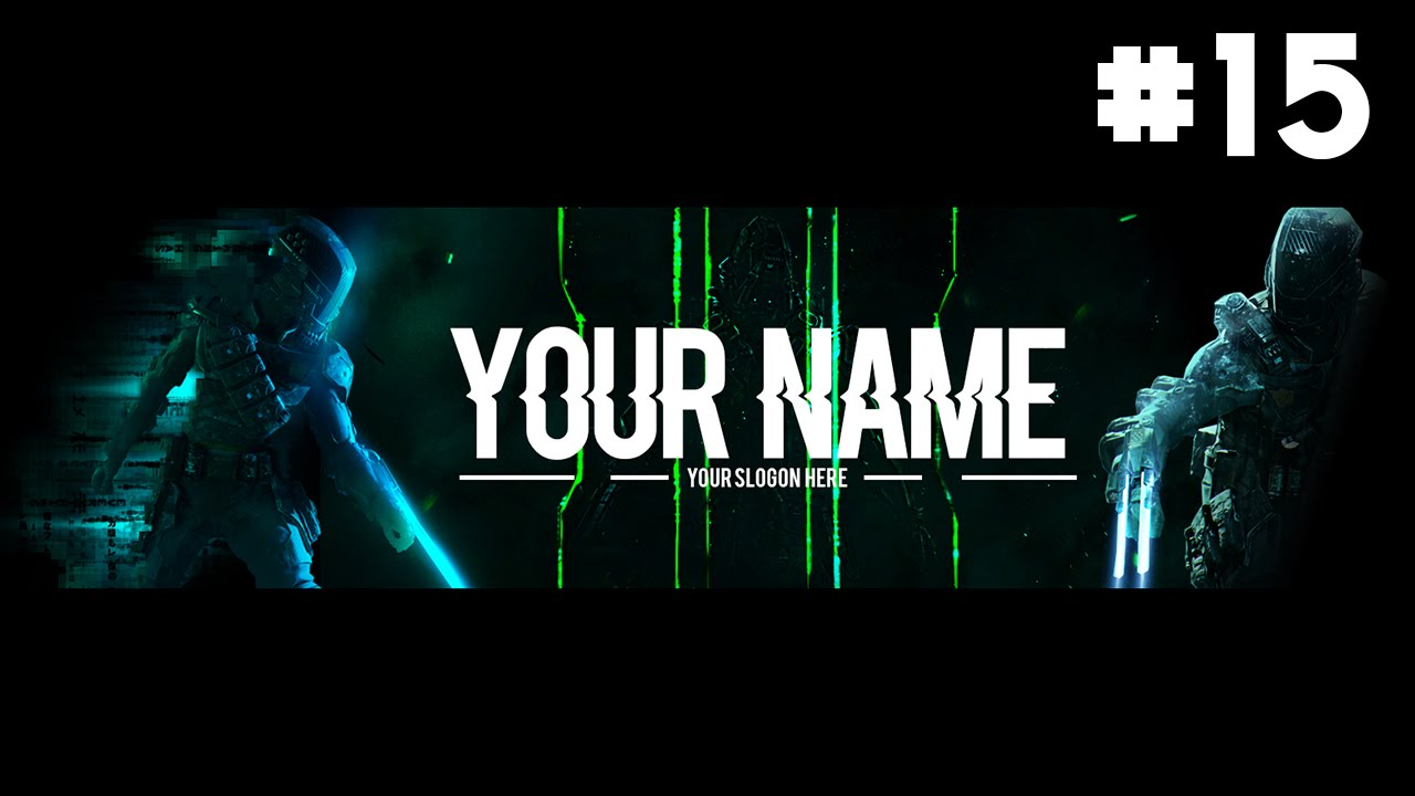 FREE Awesome Black Ops 3 Youtube Banner Channel Art #15 - YouTube