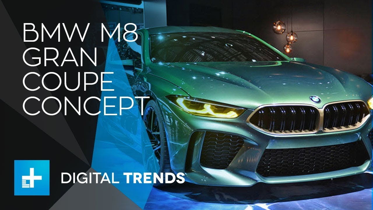 BMW M8 Gran Coupe Concept – First Look at Geneva Motor Show 2018
