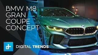 BMW M8 Gran Coupe Concept - First Look at Geneva Motor Show 2018