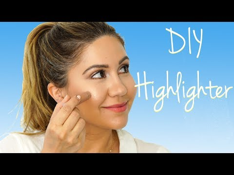 How To Make Your Own Highlighter Get A Summer Glow