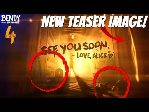 NEW BENDY CHAPTER 4 Teaser Image Analysis || Bendy & The Ink Machine Chapter 4 Teaser