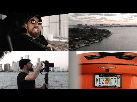 VLOG | 3 Day Music Video In MIAMI