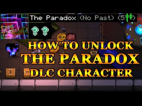 Enter the Gungeon - How To Unlock The Paradox Character (A Farewell to Arms DLC)