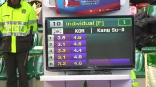 Female under 29 korea 7th world taekwondo poomsae championship in Colombia 2012 part 2
