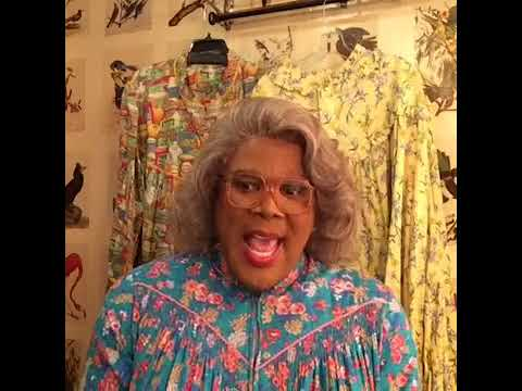MADEA Live On Facebook Talking About HER  New Movie #BOO2 (2017)