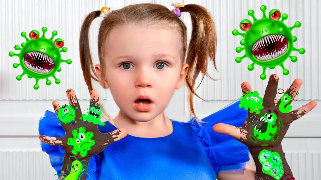 Five Kids Story about Viruses + more Children's Songs and Videos
