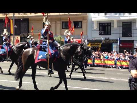 Coronation Parade - King Felipe VI of Spain - 6/19/14