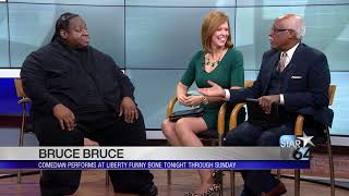 Comedian Bruce Bruce brings his comedy to Liberty Funny Bone