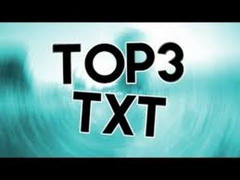 MINECRAFT - TOP 3 TXT PVP !DOWNLOAD!