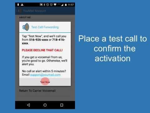 how do i activate call forwarding