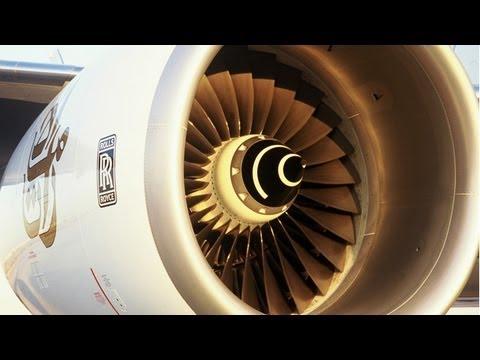 Plane engine sound compilation - LOUD!