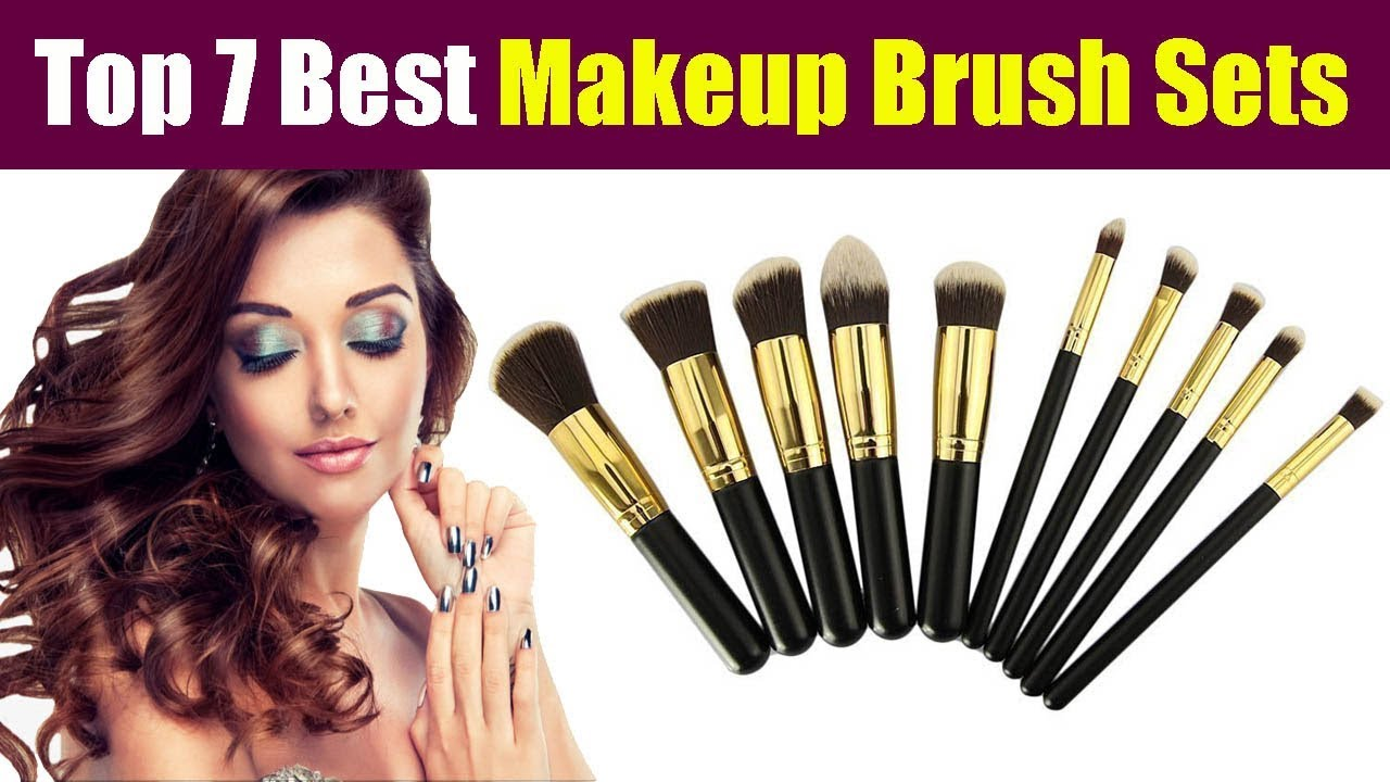 Top 7 Best Makeup Brush Sets in India at Online Lowest Price