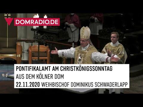 Pontifikalamt am Christkönigssonntag