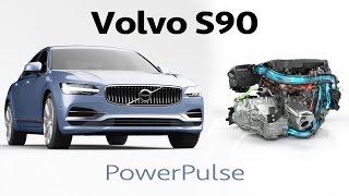 ► 2017 Volvo S90 - PowerPulse Animation