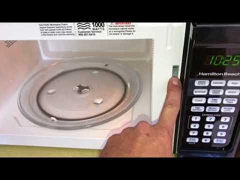 hamilton beach microwave repair