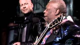 Ray Charles Tribute - Bruce Willis, B.B. King, Billy Preston - Sinners Prayer.mpg