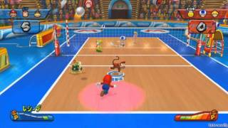 Mario Sports Mix [Part 2 - Volleyball ~ Mushroom Cup 1/3]