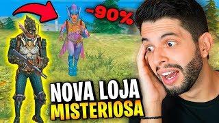 ATIRA ATÉ DEBAIXO DA ÁGUA?!? JÁ MITEI COM AS NOVAS SKINS DO FREE FIRE!!!