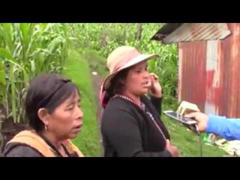 video  del deslave en san pedro soloma huehuetenango Guatemala C.A