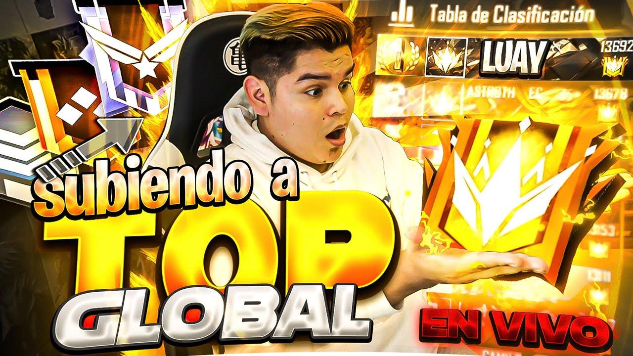 DE ORO A TOP GLOBAL 1 EN SOLO 7 HORAS *temporada 22* FREE FIRE !!
