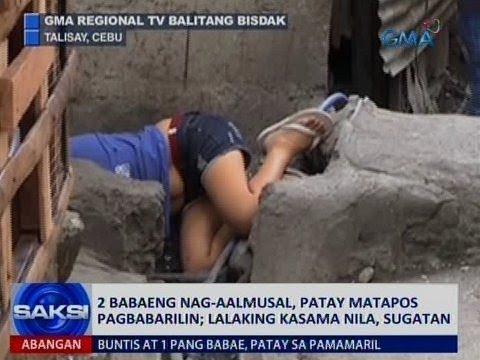 Saksi: 2 babaeng nag-aalmusal, patay matapos pagbabarilin sa Talisay, Cebu