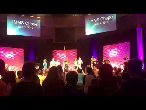 IMMS Chapel at Evansville Christian School - SHAKE!