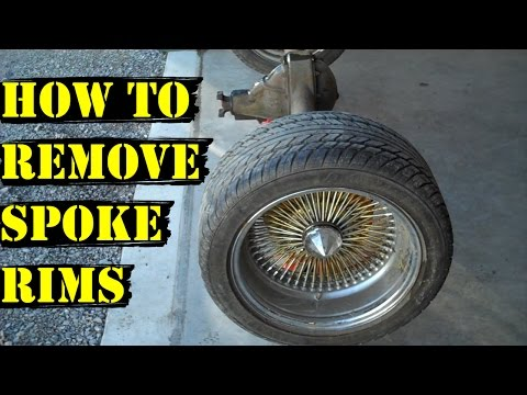 Update #3 - How To Remove Spoke Rims From Car - Aftermarket Wheels
