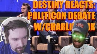 Destiny and Hasanabi React to Charlie Kirk Destruction! [FULL VID]