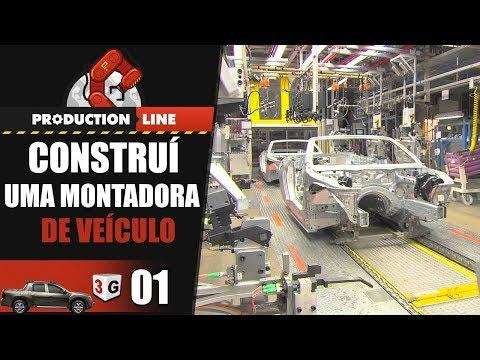 CONSTRUÍ UMA MONTADORA DE CARROS - PRODUCTION LINE CAR SIMULATOR #01 PT-BR (PC)