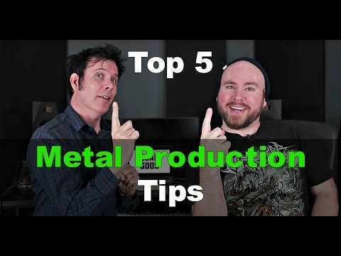Gear Gods – Top 5 Metal Production Tips Part 1: Bass and Gui