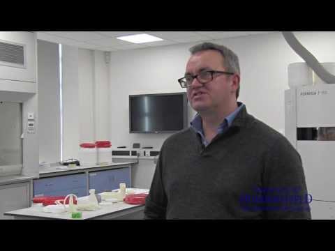 ABC Syringe designer Dr David Swann, winner of the World Design Impact Prize 2014