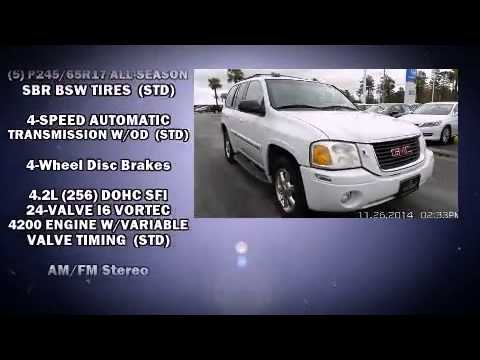 2002 Gmc Envoy With Sunroof And Heated Seats Youtube