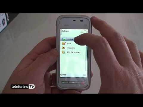 Nokia 5230 videoreview da Telefonino.net