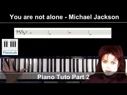 tuto piano: you are not alone part 2