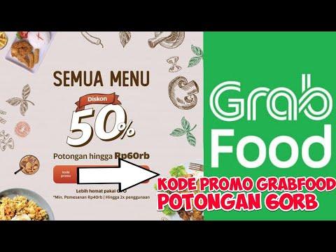 Grab Promo Terbaru Gratis Kode Potongan 60ribu Untuk Grabfood Baru 2019 Youtube