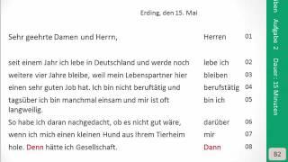 Goethe Zertifikat B2 Sprechen Aufgabe 2 простые вкусные